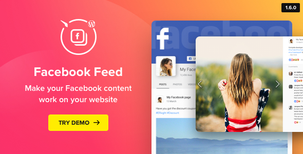 Facebook Feed – WordPress Facebook Plugin - CodeCanyon Item for Sale