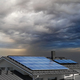 Solar panels on house rooftop - PhotoDune Item for Sale