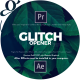 Glitch Media Opener I Premiere Pro - VideoHive Item for Sale