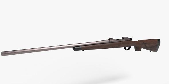 World War 2 Remington Rifle - 3DOcean Item for Sale