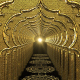 Gold Tunnel - VideoHive Item for Sale
