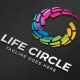 Life Circle Logo - GraphicRiver Item for Sale