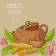 Turmeric Tea Illustration