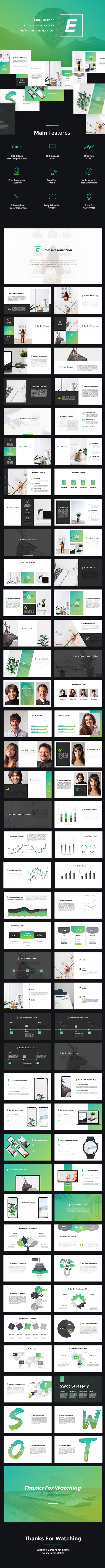 Evo - Creative Keynote Template - Creative Keynote Templates