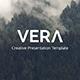 Vera – Creative Powerpoint Template