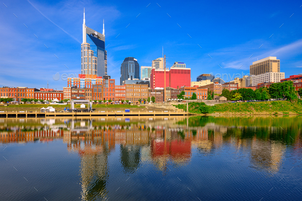 Nashville, Tennessee, USA - Stock Photo - Images