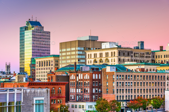 Worcester, Massachusetts, USA Skyline - Stock Photo - Images