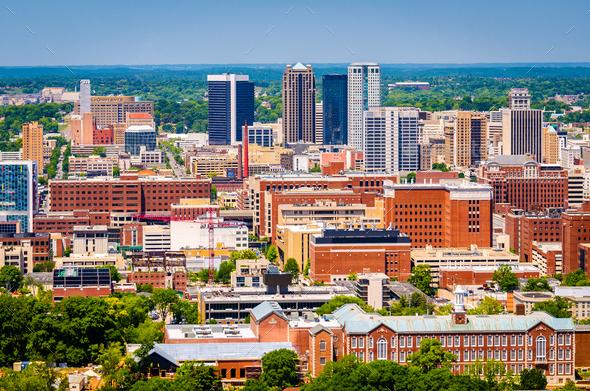Birmingham, Alabama, USA Skyline - Stock Photo - Images