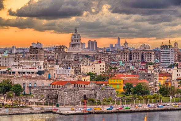 Havana, Cuba Skyline - Stock Photo - Images