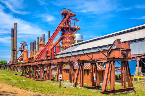 Old Iron Factory - Stock Photo - Images