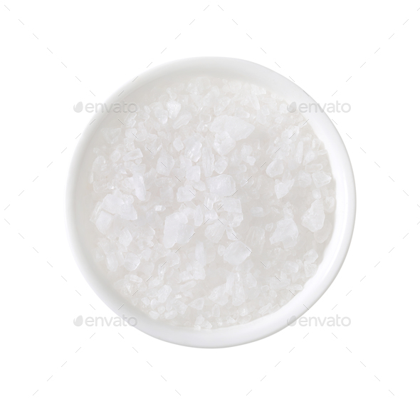 coarse grained salt - Stock Photo - Images