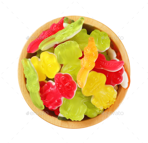 colorful gummy candies - Stock Photo - Images