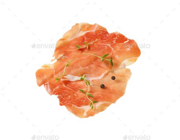 air dried ham - Stock Photo - Images