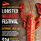Lobster / Seafood Flyer - GraphicRiver Item for Sale