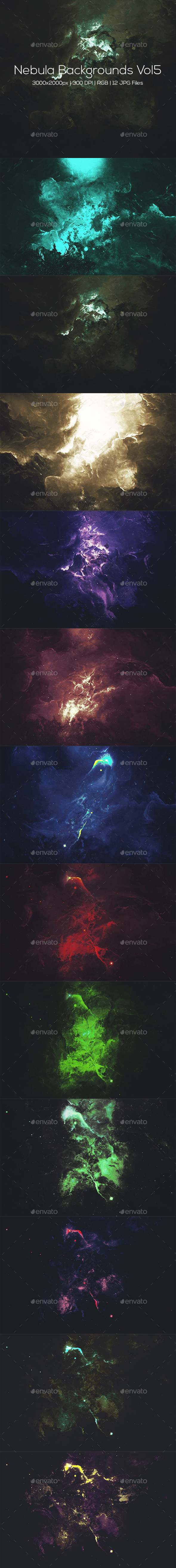 Nebula Backgrounds Vol5 - Abstract Backgrounds