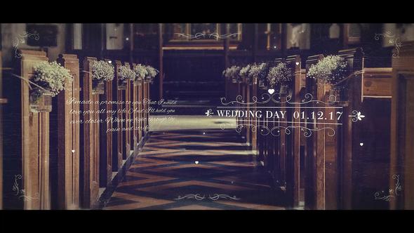 Videohive Wedding Parallax Slideshow 22079143