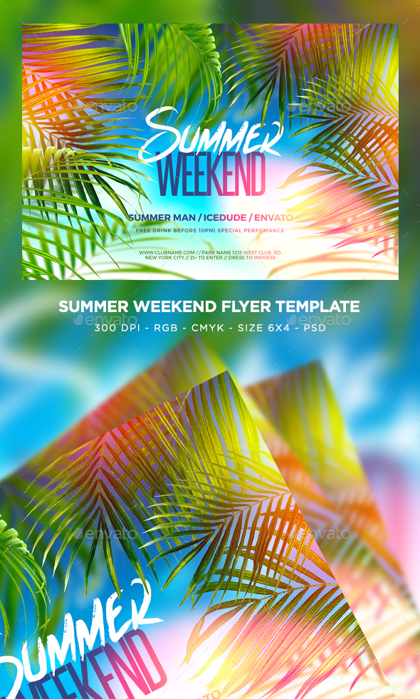Summer Weekend Flyer
