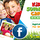 Kids Summer Camp Facebook Cover - GraphicRiver Item for Sale