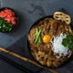 Katsudon rice topped with fried pork, japanese cuisine - PhotoDune Item for Sale