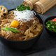 Rice bowl topped with fried pork cutlet Katsudon, tonkatsu donburi, japanese cuisine - PhotoDune Item for Sale