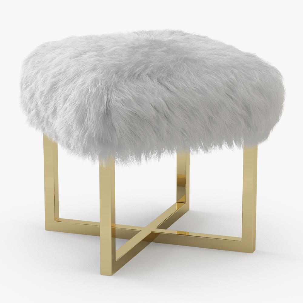 Nomo Sheepskin Bench