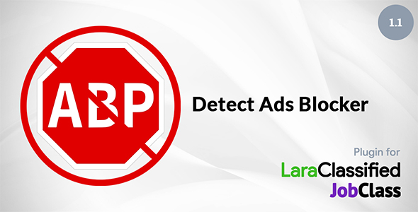 Detect Ads Blocker add-on for LaraClassified and JobClass - CodeCanyon Item for Sale