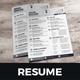 Resume & Cover Letter Design v5 - GraphicRiver Item for Sale
