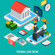Online Loaning Isometric Composition