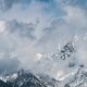 , Winter Mountains Covered with Snow in a Mist - VideoHive Item for Sale