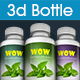 Realistic 3D Bottle Mock-Up - GraphicRiver Item for Sale