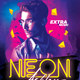 Neon Guest DJ Club Flyer - GraphicRiver Item for Sale
