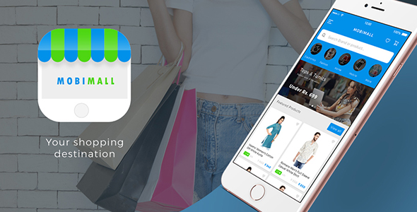 Ecommerce  Android + iOS App IONIC 3 Template - Mobimall