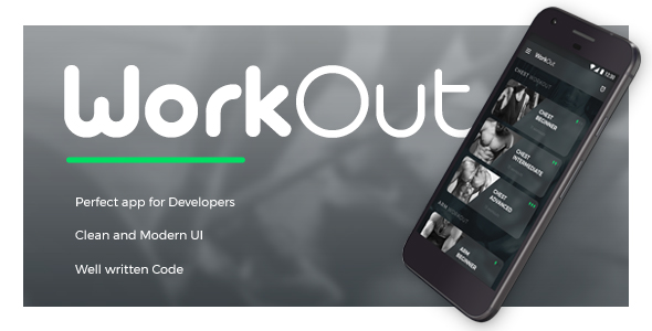 Workout Guide IONIC 3 App Templete