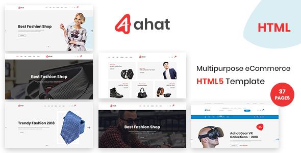 Aahat - Multipurpose eCommerce HTML5 Template