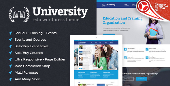 Image of University - Education, Event and Course Theme