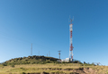 Landscape, with telecommunications towers, near Rhodes - PhotoDune Item for Sale