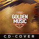Golden Music - Cd Artwork - GraphicRiver Item for Sale