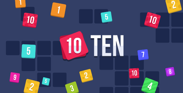 TEN (10) - HTML5 Puzzle Game (Construct 2)            Nulled
