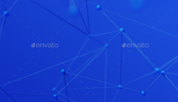 Abstract 3D Rendering of Modern Background - 3D Backgrounds