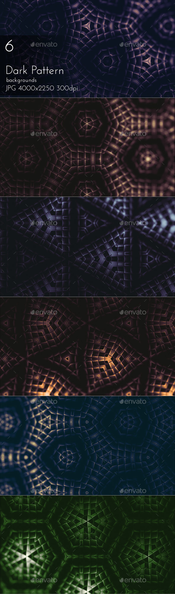 Dark Pattern - Patterns Backgrounds