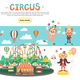 Flat Circus Concept - GraphicRiver Item for Sale