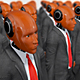 Humanoid Robots Dressed In a Business Suits - VideoHive Item for Sale
