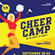 Cheer Camp Flyer - GraphicRiver Item for Sale