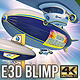 Element 3D Customizable Blimp v1 - VideoHive Item for Sale