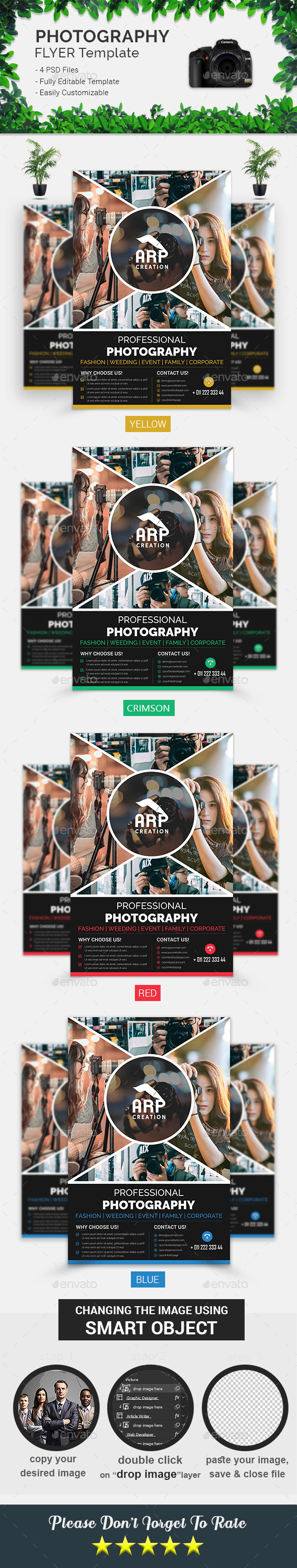 Photography Flyer Template - Corporate Flyers