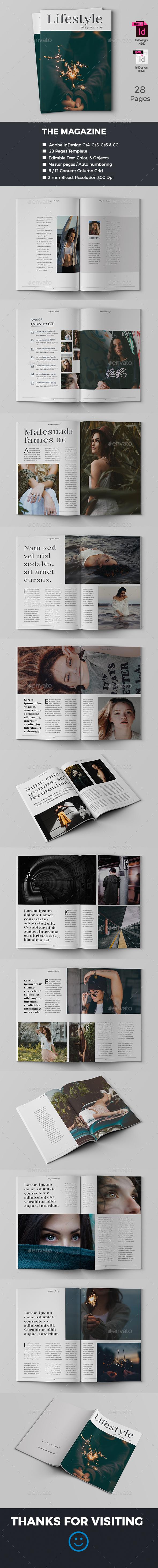 Indesign Magazine - Magazines Print Templates