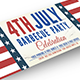 4th of July Independence Day Facebook Cover