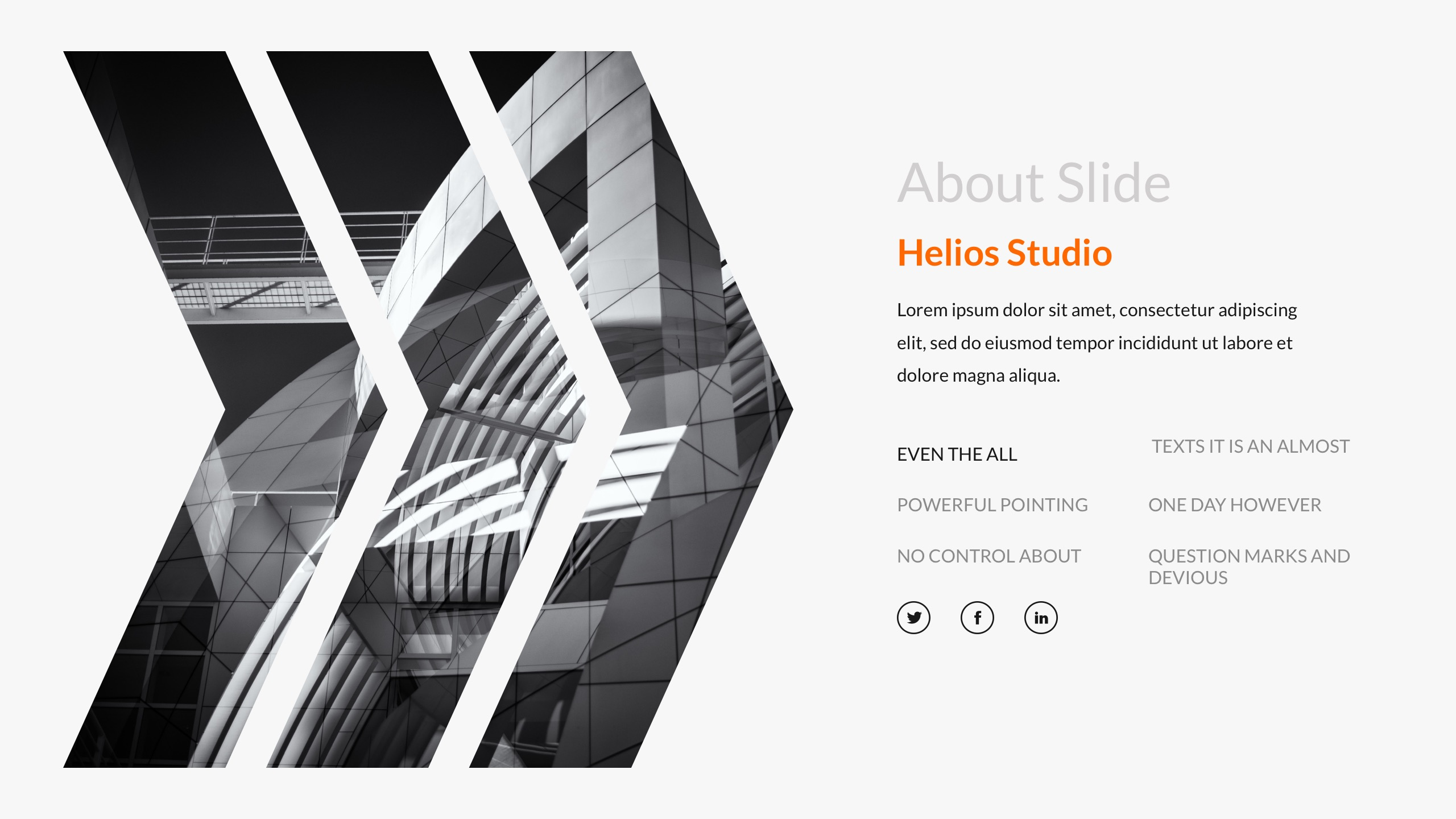 Mystery - Orange Creative Powerpoint Template by bluestack ...
