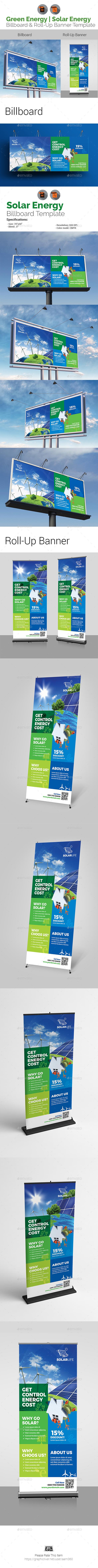 Green Energy Signage Bundle - Signage Print Templates