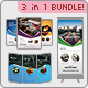 Business Bundle 3 In 1 - GraphicRiver Item for Sale
